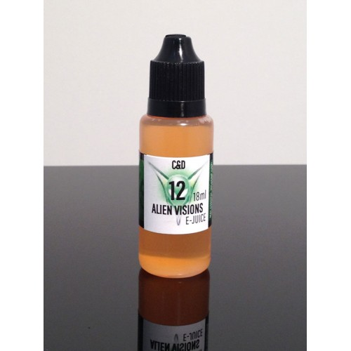 Alien Visions E-juice C&D 18ml