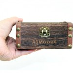 asMODus Minikin Kodama Edition 150W Stabilized Wood Box Mod (PURPLE) - #PURPLE-1728 (JAPAN Domestic Shipping)