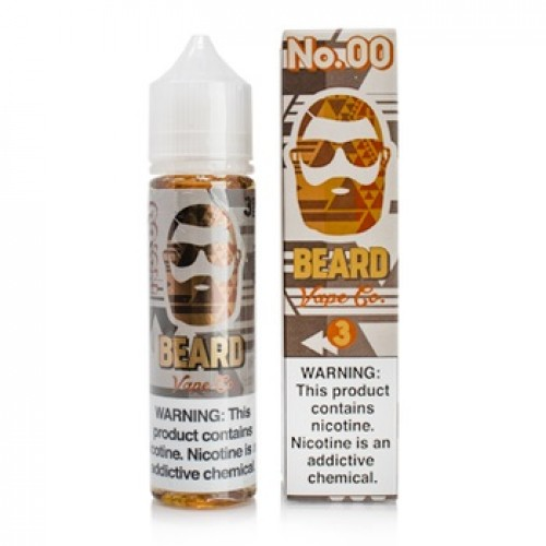 Beard Vape Co. No. 00 60ml (JAPAN Domestic Shipping)