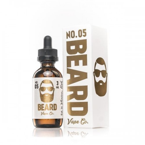 Beard Vape Co. No. 05 60ml (JAPAN Domestic Shipping)