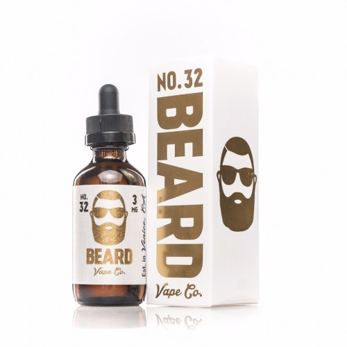 Beard Vape Co. No. 32 60ml (JAPAN Domestic Shipping)