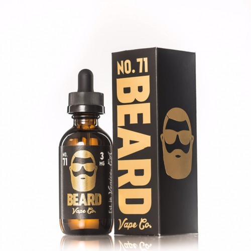 Beard Vape Co. No. 71 60ml (JAPAN Domestic Shipping)