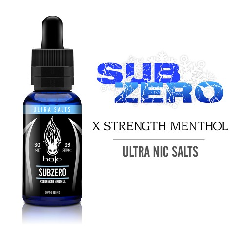 Halo SubZero Nic Salt 30ml
