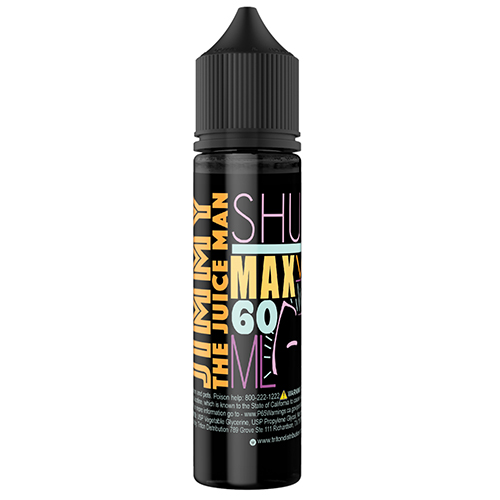 *Clearnace Sale* Jimmy the Juice Man Shurb 60ml  (Max VG) (JAPAN Domestic Shipping)