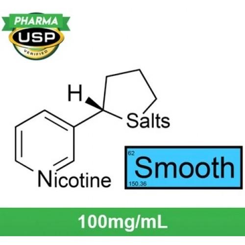 """Nude Nicotine Nicotine Salts™ """"SMOOTH™"""" 100mg/mL ❄ USP Pharma  120ml"""