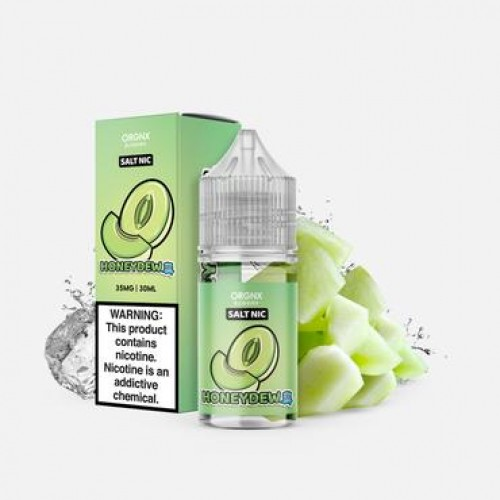 ORGNX Eliquids Honeydew Ice Salt Nic 30ml