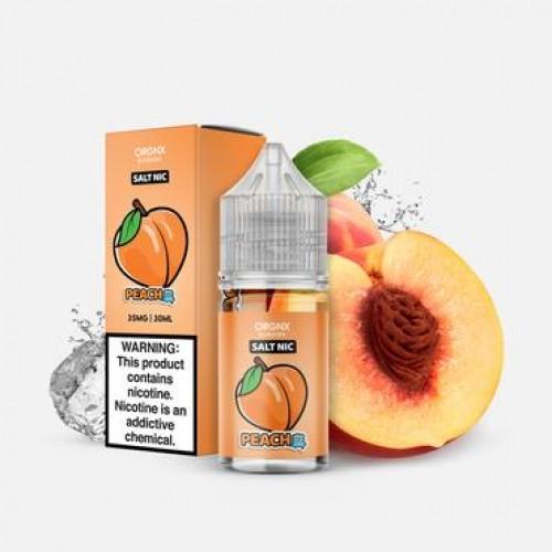 ORGNX Eliquids Peach Ice Salt Nic 30ml