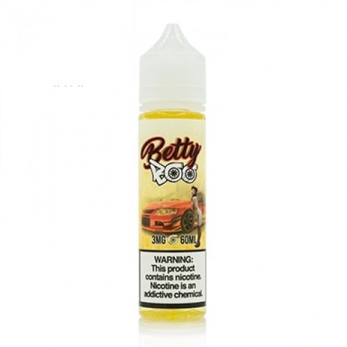 Pinup Vapors / Boosted E-juice Betty Boo 60ml (JAPAN Domestic Shipping)