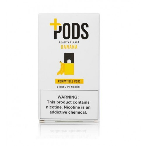 Plus Pods Banana (4/pack )