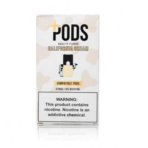 Plus Pods California Cream (4/pack )