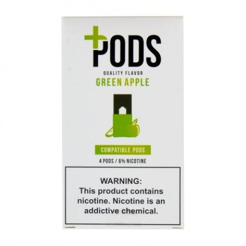 Plus Pods Green Apple (4/pack )