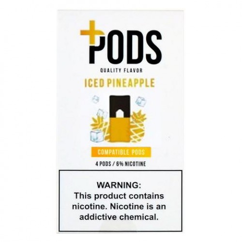 Plus Pods Iced Pineapple (4/pack )