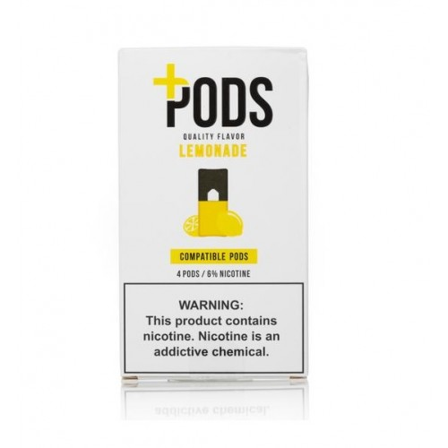 Plus Pods Lemonade (4/pack )