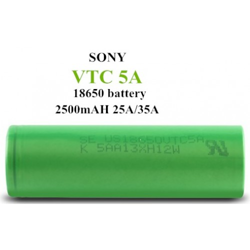AUTHENTIC!  4 pcs of Sony VTC5A 18650 2500mAh 25A Battery - Flat Top (JAPAN Domestic Shipping)