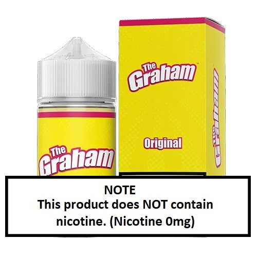 The Graham E-Liquid Original 60ml (JAPAN Domestic Shipping)