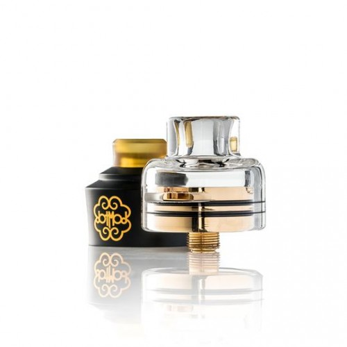 Trinity Glass Cap for DotMod dotRDA Single Coil (22mm) (JAPAN Domestic Shipping)