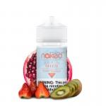 Naked 100 Menthol - Strawberry Pom (Brain Freeze) 60ml  (JAPAN Domestic Shipping)