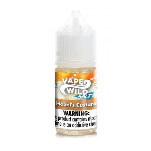 Vape Wild Hazel's Custard Nic Salt 30ml