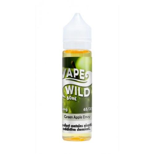 Vape Wild Green Apple Envy 60ml (Pre-Steeped)