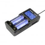 XTAR VC2 Charger With LCD Screen Display