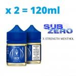 Halo SubZero 120ml  (60ml x 2)