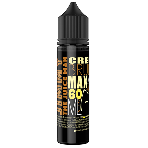 *Clearance Sale* Jimmy the Juice Man Creme Brulee 60ml  (Max VG)