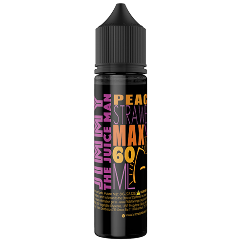 *Clearance Sale* Jimmy the Juice Man Peachy Strawberry 60ml (Max VG) (JAPAN Domestic Shipping)