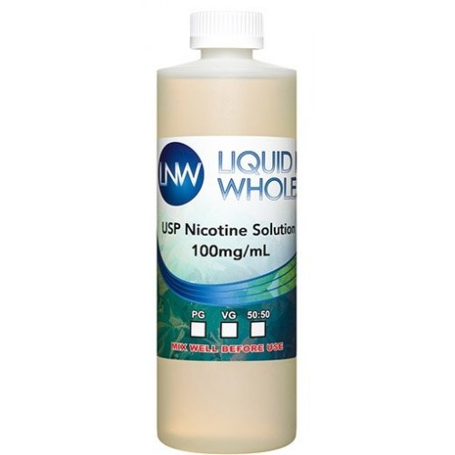 Flavorless Nicotine Liquid 100mg 120ml