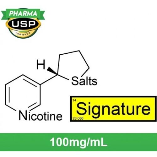 "Nude Nicotine Nicotine Salts™ ""SIGNATURE™"" 100mg/mL ❄ USP Pharma  120ml"