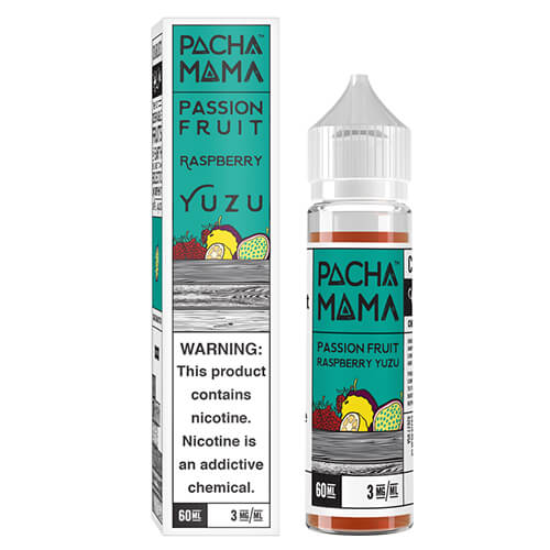 Pachamama Passion Fruit Raspberry Yuzu 60ml