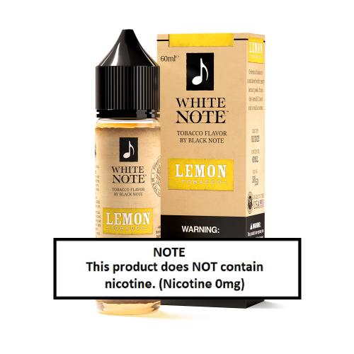 White Note Lemon Tobacco 60ml (JAPAN Domestic Shipping)