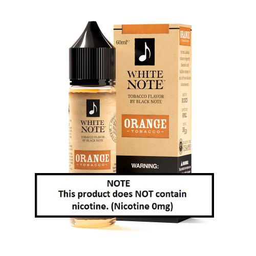 White Note Orange Tobacco 60ml (JAPAN Domestic Shipping)